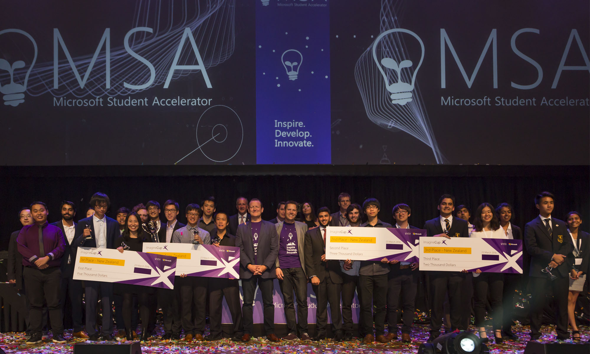 Microsoft Award Photography